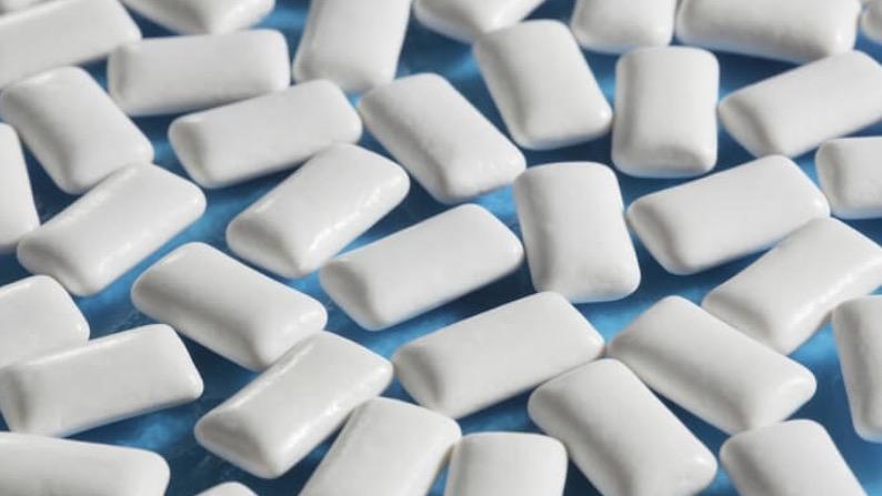 Kauwgom bevat E171